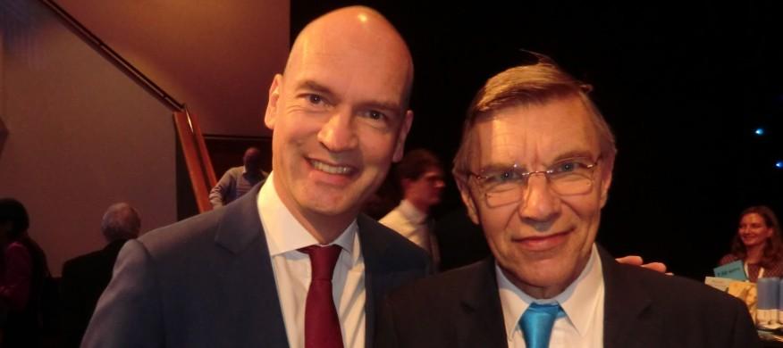 Dick Karssen en Gert-Jan Segers nog breder